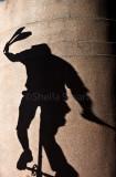 Busker shadow