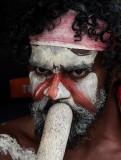 Terry, aboriginal didge player