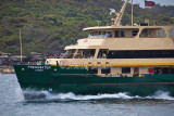 Manly Ferry Freshwater on Sydney Harbour