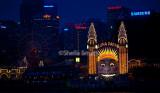 Luna Park, Sydney at night