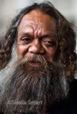 Close up of Australian aborigine - 5/02/2012