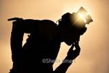 Juggler silhouette