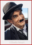 Charlie Chaplin popout