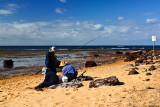 Fisherfolk at Long Reef