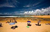 Narrabeen beach on a summers day