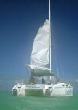 Snorkling catamaran