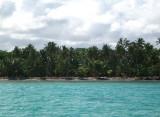 Beach at tip of Punta Cana