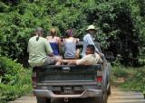 The ride into Maipaima Eco Lodge