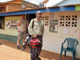 Tom and Marc in Lethem - waiting for a plane