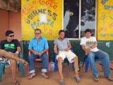 Chris and friends in Lethem