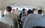On board for Kaieteur Falls flight