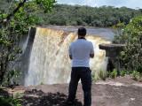 Tom and  Kaieteur Falls