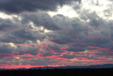 Sunset from Middlebury, Vt.