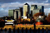 Canary Wharf from Greenwich 3