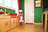 Ava's tiny kitchen