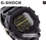 CASIO G-SHOCK ABSORBER TOUGH SOLAR GX-56GB GX-56GB-1 ALL BLACK