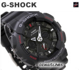 NEW CASIO G-SHOCK MOTORCYCLE SPORTS MOTIF GA-120 GA-120-1A SHOCK RESISTANT