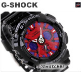 2012 CASIO G-SHOCK MOTORCYCLE SPORTS MOTIF GA-120 GA-120B-1A SHOCK RESISTANT