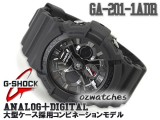 2012 CASIO G-SHOCK MOTORCYCLE SPORTS MOTIF GA-201 GA-201-1A SHOCK RESISTANT