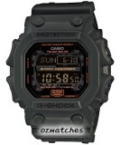 CASIO G-SHOCK ABSORBER TOUGH SOLAR GX-56 GX-56KG-3 OLIVE DRAB MUD RESISTANT