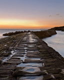 Harbour wall Cullercoats