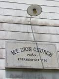 2011 June 12 Mt Zion Church Homecoming