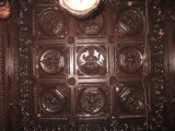 nava graha model at the ceiling of tirumuzhikkalam mandapam.jpg