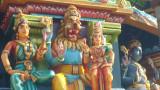 Lakshmi nrusimhar on the northern side of Vimaanam