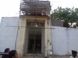 renovation work going on