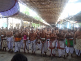 PerumaaL kovil Prokshanam 2nd day morning pictures