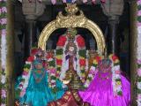 Nambi with ubhayanAchchimAr: Navarathri 9-10-2005