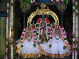 Nambi with ubhayanAchchimAr: Navarathri 10-10-2005