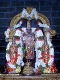 Parthasarathi after kaithalasevai on MM sattrrumarai day.JPG
