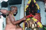 10. Srimadh Azhagiyasingar performing Serthi Thiruvaradhanam for Malolan Moolavar and Uthsavar -1994.jpg