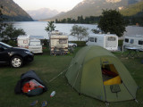 Totes Gebirgen Grundlsee camp and bivouac