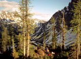 1998 PCT Washington - a day south of the Canadian border on the Pacific Crest Trail