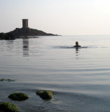 Swimming in the Med
