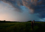 Storm over Blowing Grass