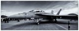 F18 in Black & White