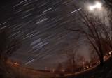 Winter Star Trails