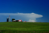 Thunderhead with Farm