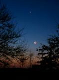 Moon - Venus - Antares