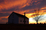 Fairview Church Sunset