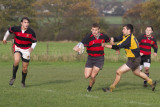 Mods' 3rd XV lose thriller 36-38 to Leos' 3rd XV (H) 12-11-2011