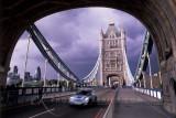 Mini on Tower Bridge,