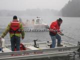 02/11/2012 Ice Water Rescue Drill Hanson MA
