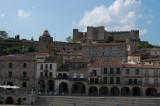 View towards the castle in Trujillo
