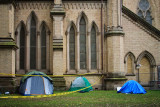 tents - #occupy TO