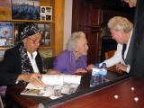 Sandra Seaton & Betty Price at talk