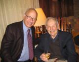 The son, Jim, with fellow economist, Dan